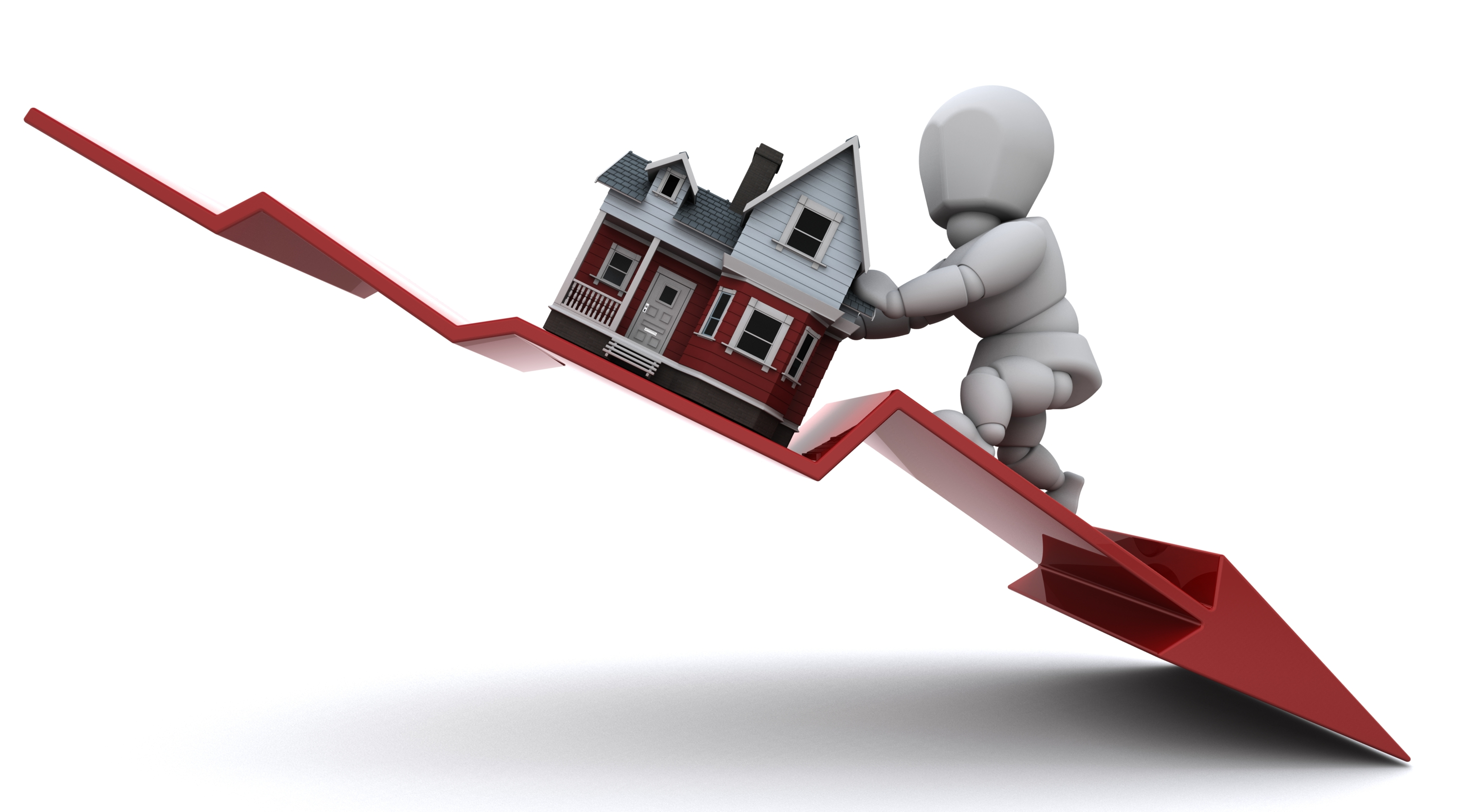 Home prices ups and downs